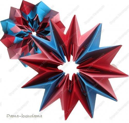 Идею взяла тут http://stranamasterov.ru/node/25534?c=favorite Как делать тут http://www.spitenet.com/origami/Fireworks-v.shtml фото 1