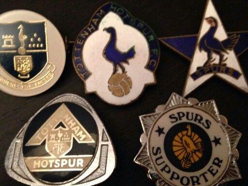 Some old spurs badges