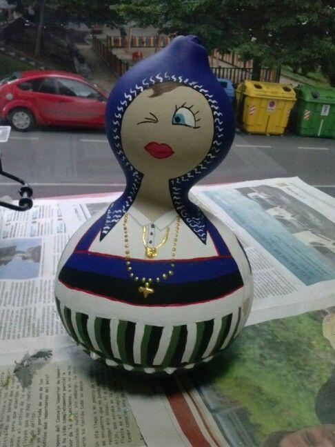 M s de 25 ideas incre bles sobre calabazas pintadas en - Calabazas decoradas manualidades ...