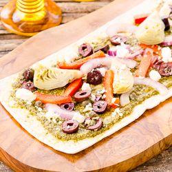 Mediterranean Flatbread | Magnolia Days