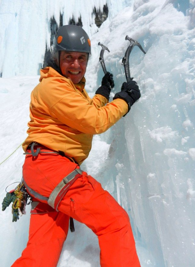 Barry Blanchard of Yamnuska Mountain Adventures