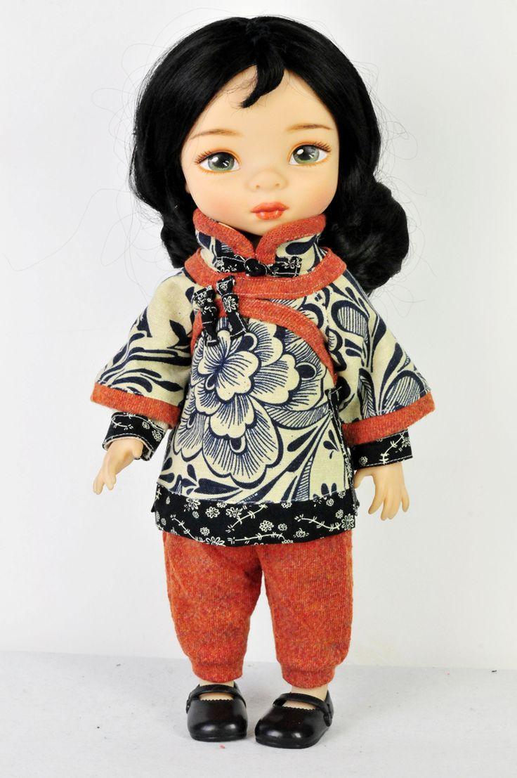 Aliexpress.com: Comprar 16 pulgadas salon doll ropa ropa juguetes china azul y blanco vestido de traje suave es virtuoso ( única muñeca ropa ) de ropa de esquí fiable proveedores en Amy Life Shop