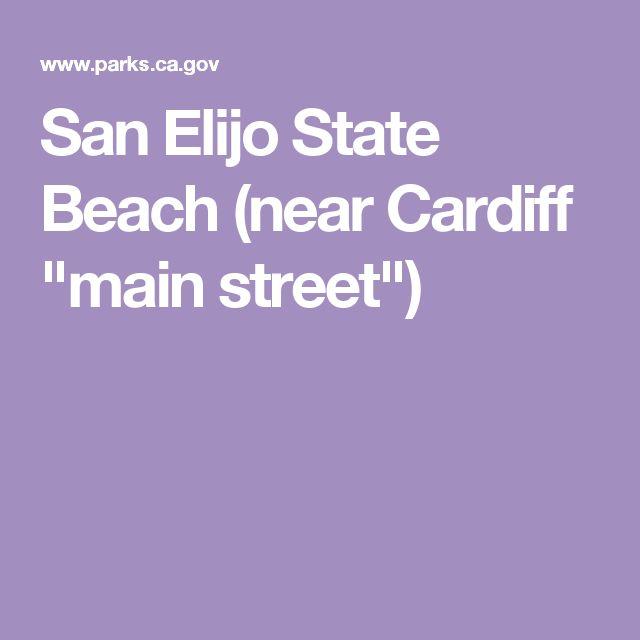 "San Elijo State Beach (near Cardiff ""main street"")"