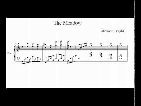 The Meadow (Sheet Music) - Twilight Saga: New Moon
