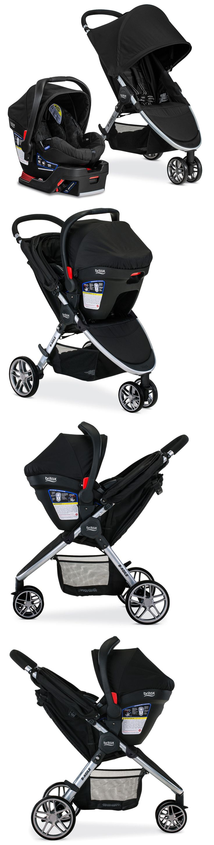 Baby Britax 2017 B Agile 3 Stroller And B Safe 35 Infant Car
