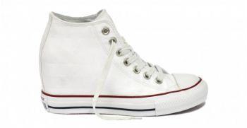 Τα υπέροχα λευκά satin Converse All Star 547189C UP μόνο με 95.90€ !!! από το muststore.gr