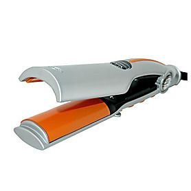 Best new curler! Looks weird, I know but my hair stylist used it on my hair and it was so simple.  He just clamped it on a section of hair, flipped it over once and then continued to straighten and my hair came out awesome. HAI eLite Tong Ionic Iron - $129.00