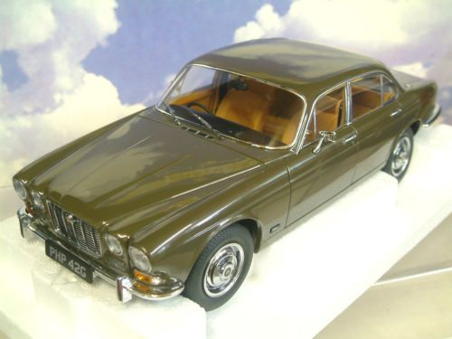 PARAGON 1/18 DIECAST 1968 SIR WILLIAM LYONS JAGUAR XJ6 SERIES 1 4.2 SABLE BROWN | eBay