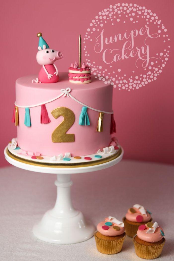 1001 Peppa Wutz Torte Ideen Fur Einen Lustigen Kindergeburtstag In 2020 Peppa Schwein Kuchen Peppa Wutz Torte Geburtstagskuchen Kinder