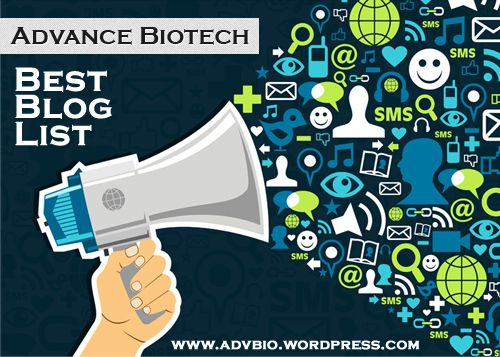 Have thought of blogging on #Biotech: Check out A 'Best of' List