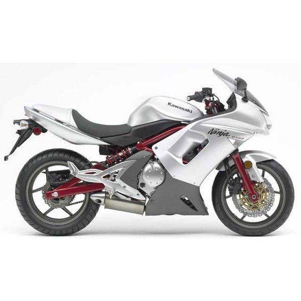 Kawasaki Ninja 650R ❤ liked on Polyvore