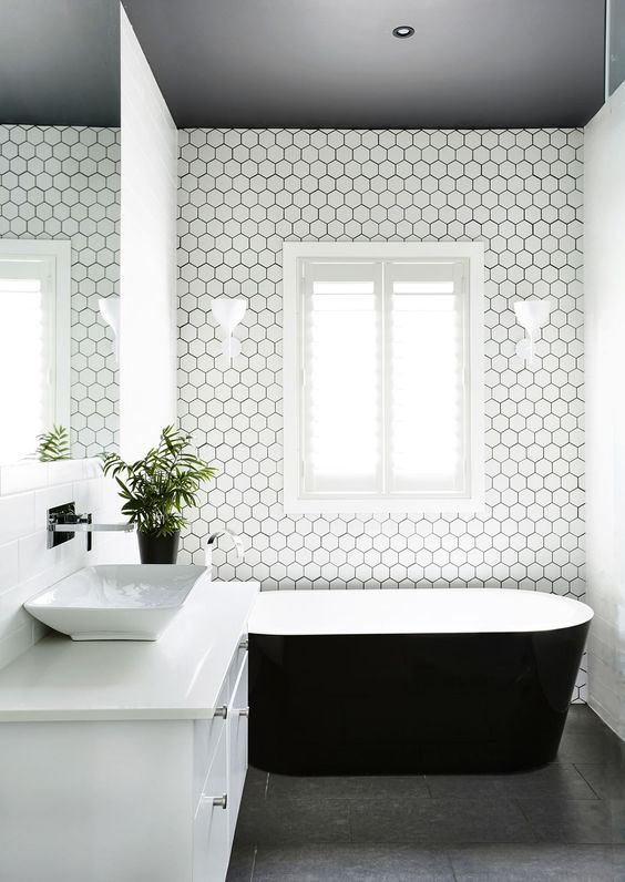 I have decided that my dream bathroom would have to be black, white, and gold. Let's face it, bathrooms can be pretty boring, right? But t...