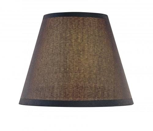 Minka lavery sh1963 minka lavery sh1963 black cloth shade in black finish fixture