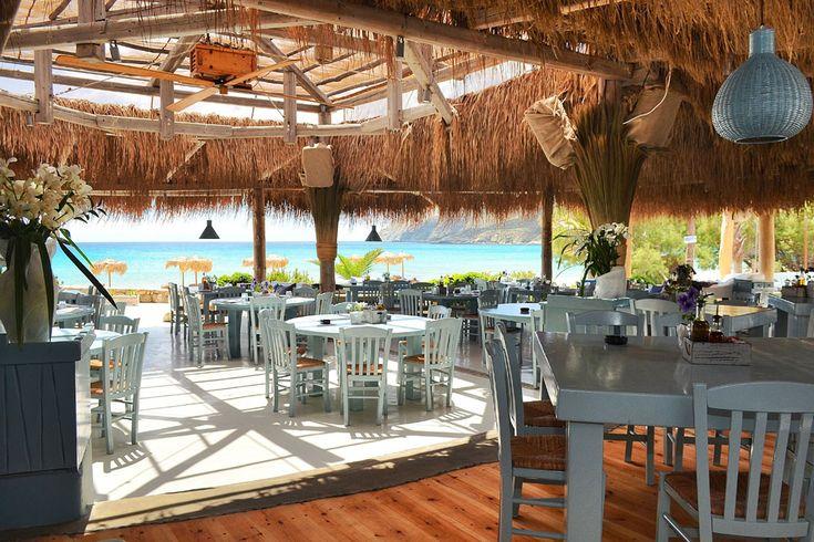 tiki style hotspot in mykonos solymar beach restaurant bar mykonos - Beach Style Restaurant 2016