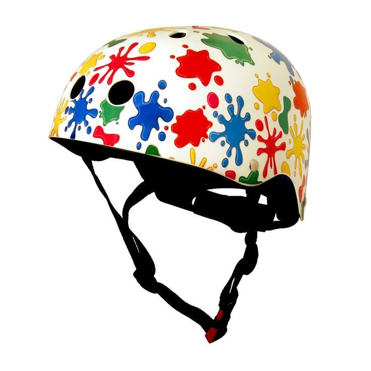Girl's Kiddimoto Helmets - Kiddimoto Kids Helmet - Splatz