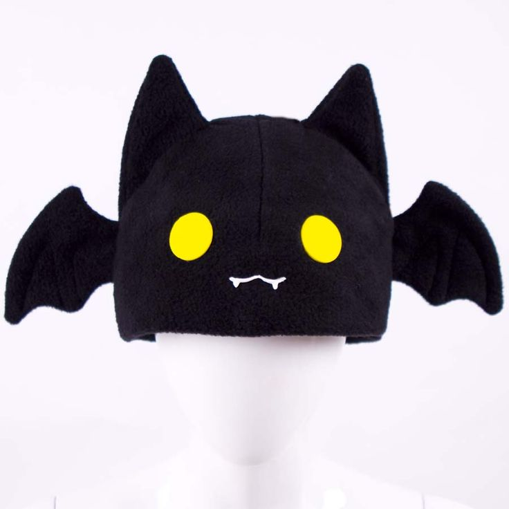 "Kawaii style and fashion ""Bat"" Hat © by Kay Pike of CanadaCosplay"