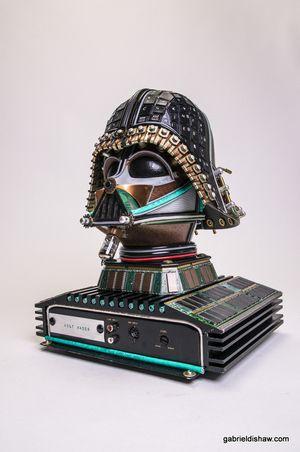 Volt Vader -- Upcycled Star Wars Art