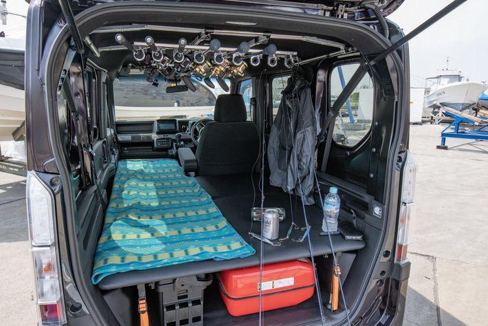 車中泊 軽キャンパー N Van用ベッドキットが登場 Vol 2 N Vanで