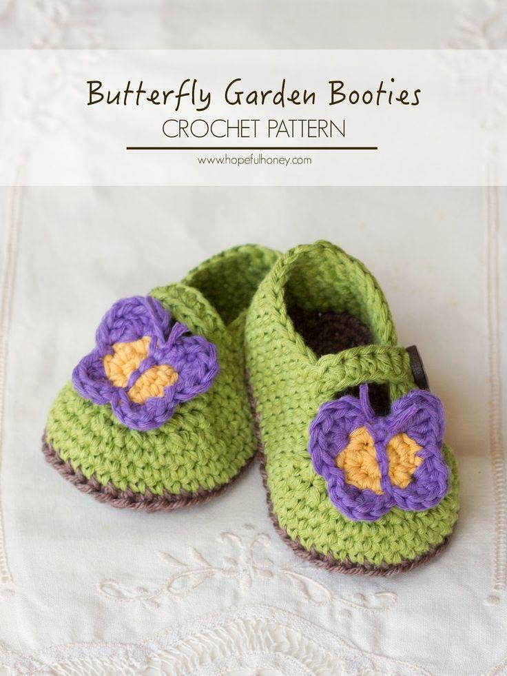 Crochet Baby Shoes Pattern Pinterest