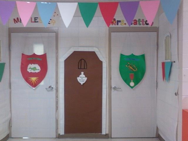 Classroom Decor Castle : Castle theme classroom door decorations topic