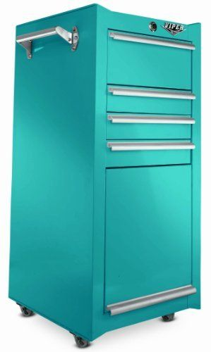 Would this be a cool Salon Toolbox for Terryn, or what?  Viper Tool Storage V1804TLR 18-Inch 4-Drawer 18G Steel Rolling Tool/Salon Cart with Oversized Compartment, Teal by Viper Tool Storage, http://www.amazon.com/dp/B008CM2ZII/ref=cm_sw_r_pi_dp_7rlqsb13BH50C