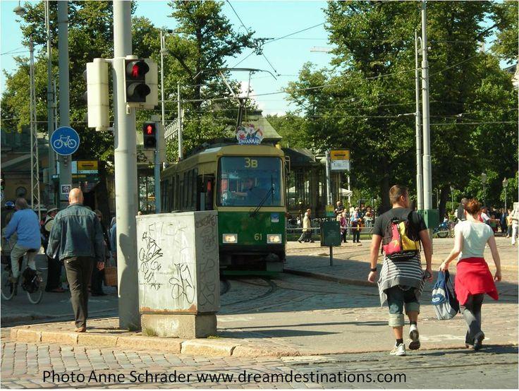 Tram Helsinki Finland 2008