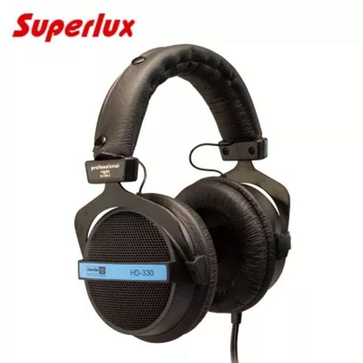 Semi-open Dynamic Professional Studio Monitoring Headphones Hifi Stereo DJ Recording Headset Original Superlux HD330 Earphone