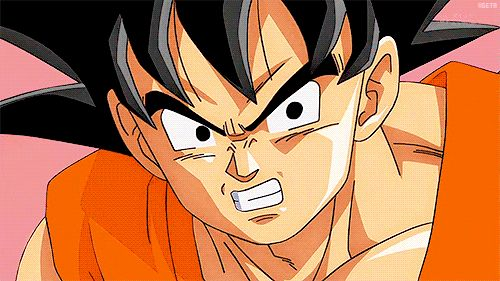 Vegeta & Goku- the moment you realize something epic was about to happen