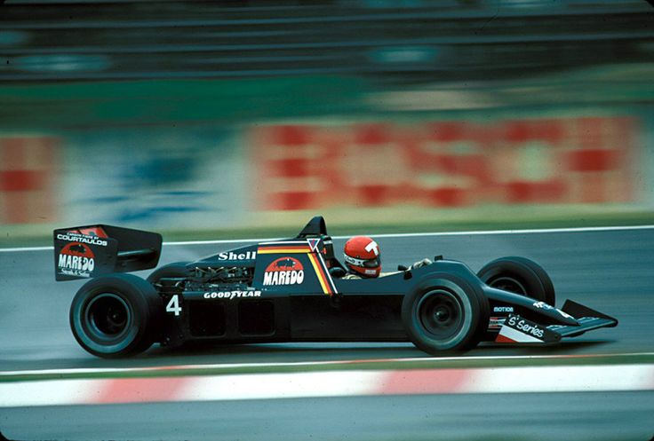 Mike Thackwell, F1 Tyrrell 012, Hockenheim, 1984