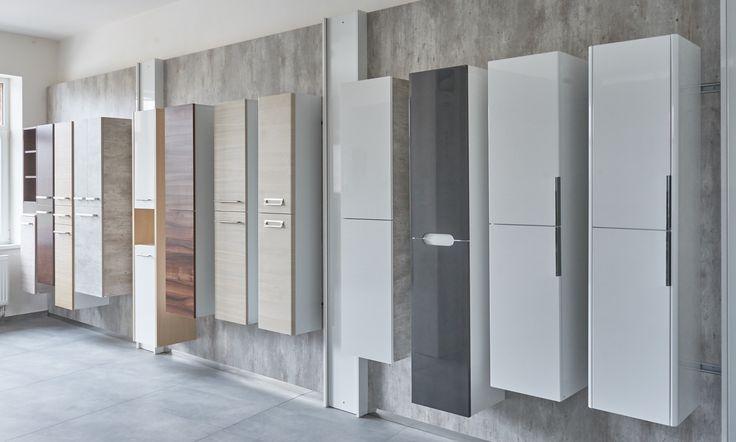 Koupelny - inspirace - Vyberte si závěsnou koupelnovou skříňku podle svých představ v showroomu Dřevojas ve Svitavách
