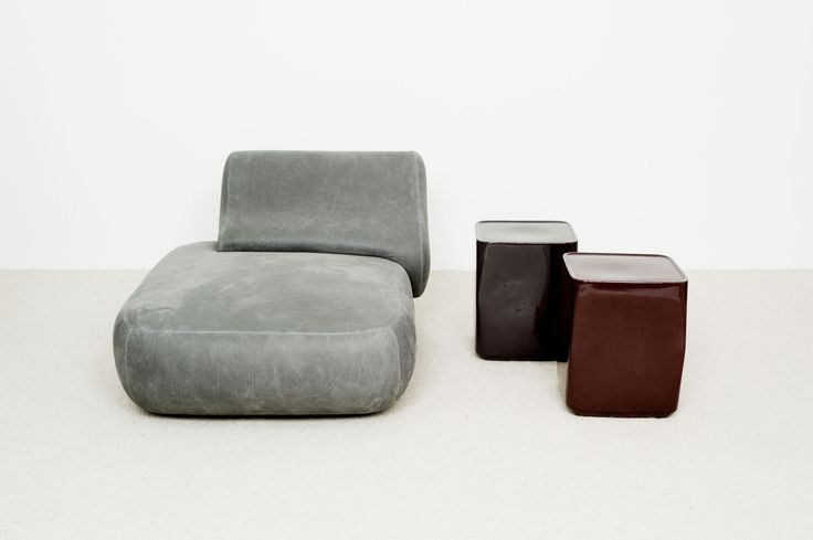 Ottoman Lil Table Appoint Oko - Christophe Delcourt