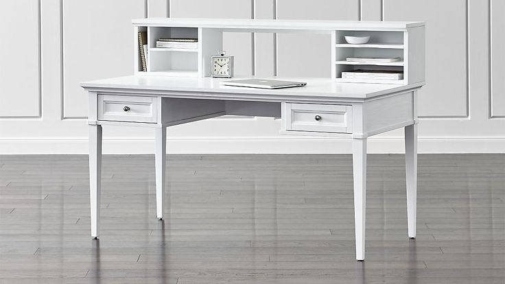 White Desk With Drawers And Hutch: Best 25+ White Desk With Hutch Ideas On Pinterest
