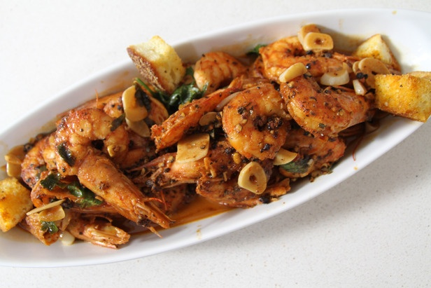 New Style New Orleans Barbecue Shrimp