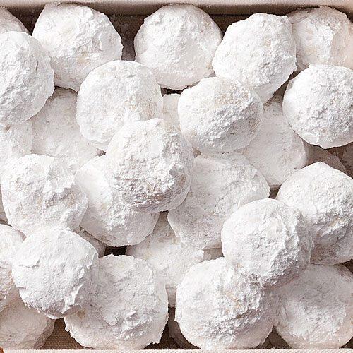 Almond Snowball Cookie recipe | Savor the South | Pinterest