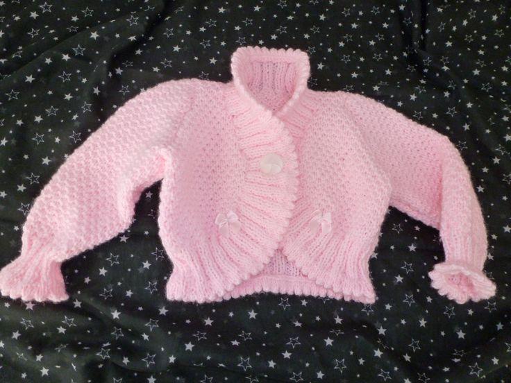 Lovely little girls knitted shrug