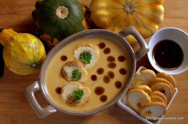 cea mai buna supa crema de dovleac copt la cuptor