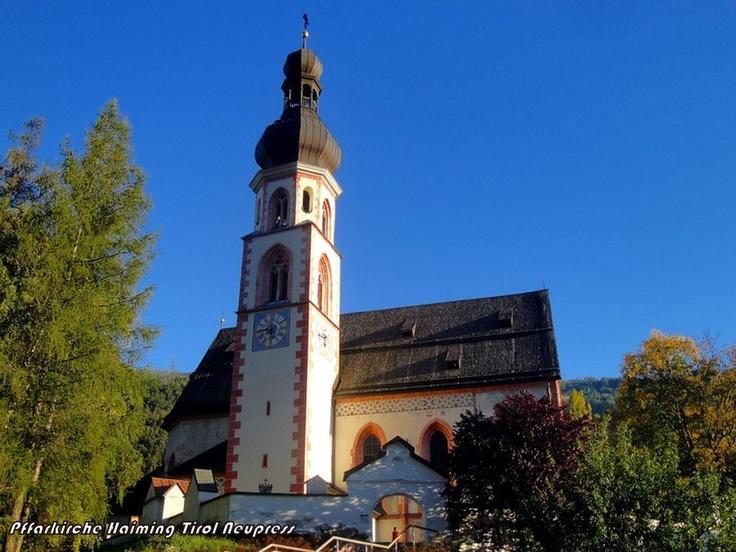 Haiming, Pfarrkirche Hll. Chrysanth und Daria