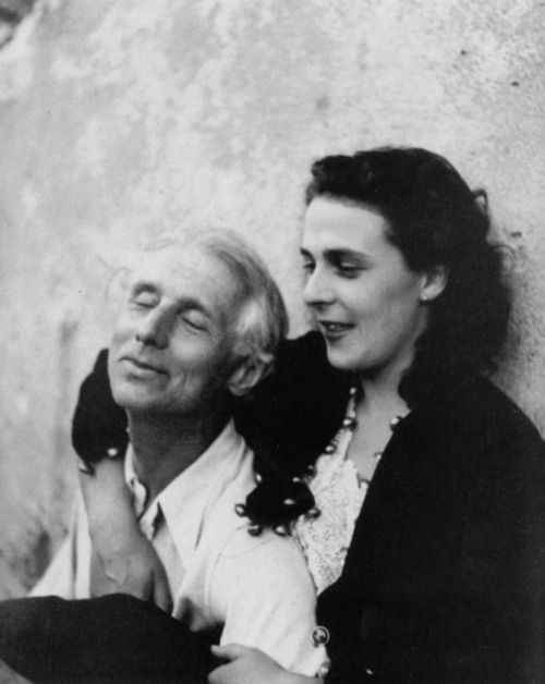 Surrealist painters/lovers Leonora Carrington and Max Ernst 1939