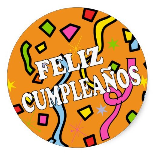 Feliz Cumpleanos Happy Birthday in Spanish Round Sticker Yes I can say you are on right site we just collected best shopping store that haveShopping          Feliz Cumpleanos Happy Birthday in Spanish Round Sticker Review from Associated Store with this Deal...