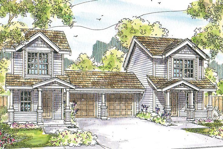 Duplex Plan - Rothbury 60-016 - by Associated Designs