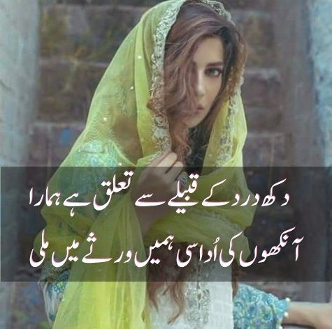 2 Line Very Sad Shayari Collection in Urdu | Best Urdu Poetry Pics