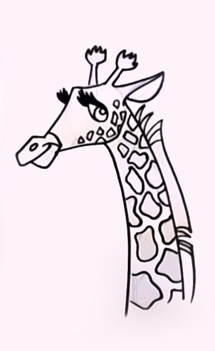 learn how to draw a giraffe and pick up some beginners drawing tips along the way