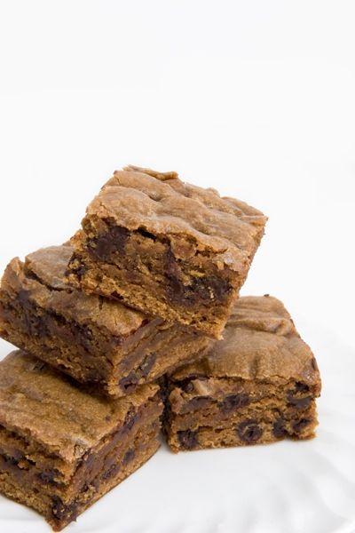 chocolate chip blondies chocolate chip blondies chocolate chips vegan ...