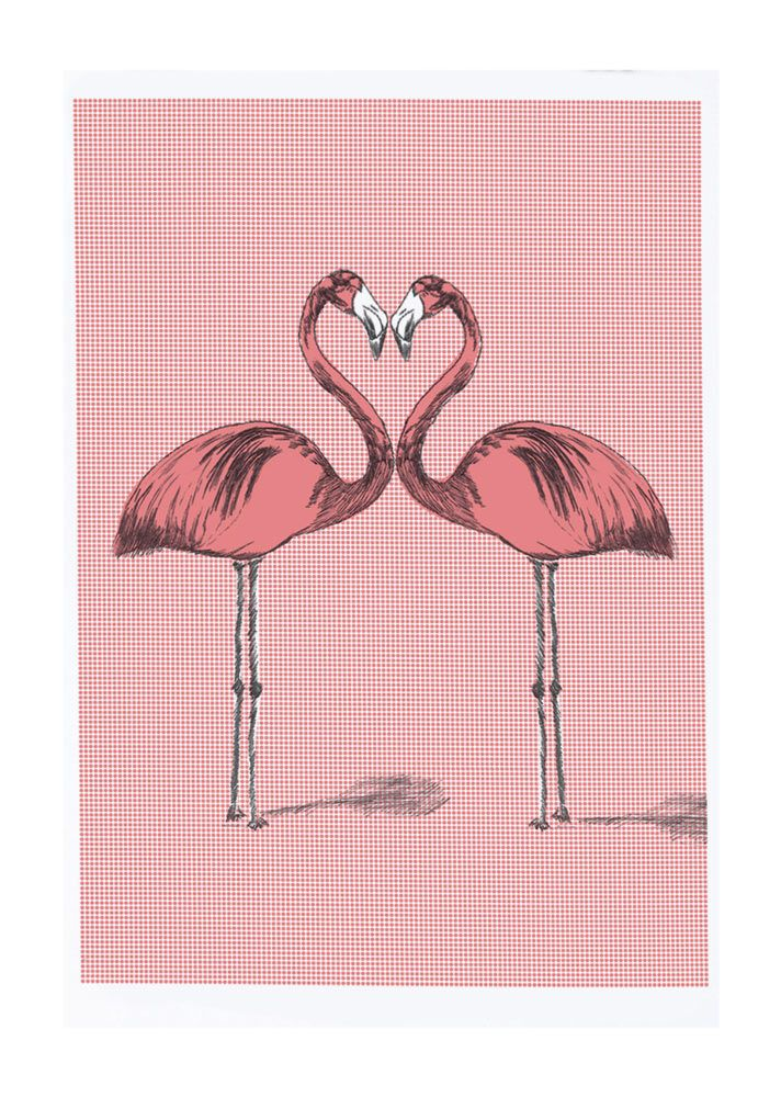 'Flamingos Happy' - James Nielsen