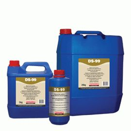 DS-99: Additive for tile adhesives and joint grouts. Improves properties such as bonding to substrate, abrasion resistance and water-impermeability.