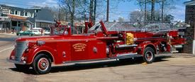 Bay District Volunteer Fire Department, California, MD - Ladder 3 - 1941 American LaFrance 65' Aerial #vintage