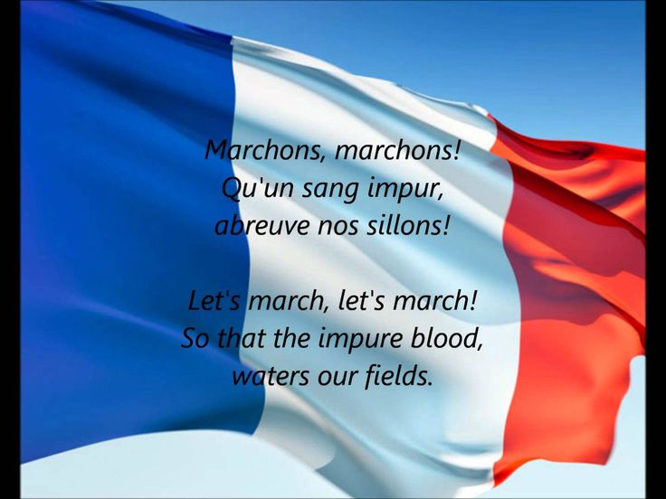 "of Those Fallen in Paris ! 13 November 2015 / French National Anthem - ""La Marseillaise"" (FR/EN)"