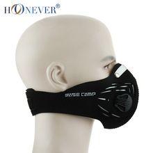 A prueba de viento mascarilla Anti polvo motocicleta cráneo máscara de carbón activado Haze mascarilla con filtro Paintball(China (Mainland))