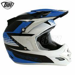 2014 Thh Tx23 Velocity Motocross Helmet - Black Blue - 2014 Thh Motocross Helmets - 2013 Motocross Gear - by Thh Helmets
