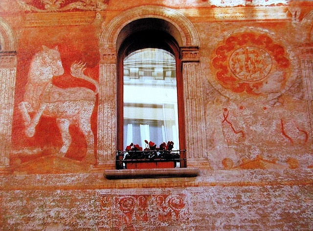 | ♕ |  Renaissance-era Fresco - Treviso  | by © Aldo Furlanetto